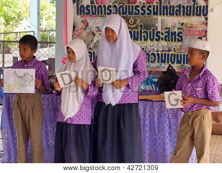 Learning English In A Muslim Public School In Thailand