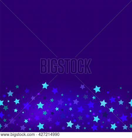 Starlight Vector Template For Posters And Banners With Copy Space