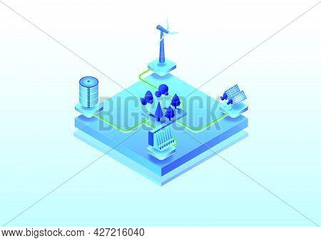 Isometricenergy2Blue