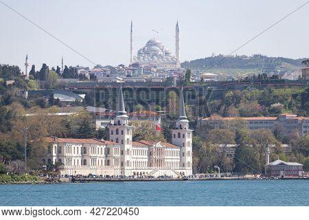 Kuleli Military High School In Istanbul City, Turkey