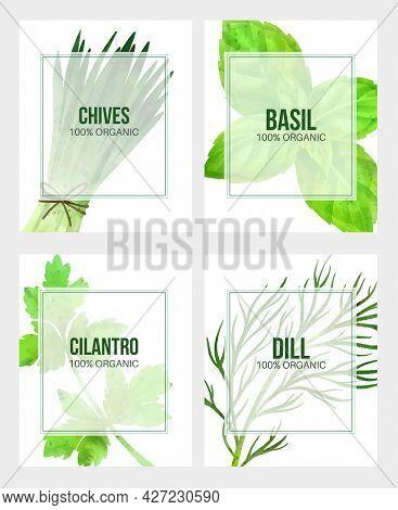 Summer Veggies Banner, Hand Drawn Vector Watercolor Illustration