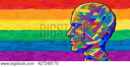 Pride And People Social Justice And Gay Rights Community Support Or Lgbt And Lgbtq Community Toleran