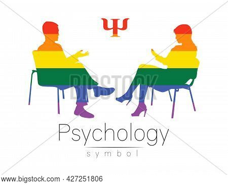 The Psychologist And The Client. Psychotherapy. Psycho Therapeutic Session. Psychological Counseling