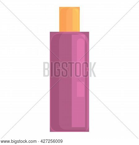 Shampoo Bottle Icon Cartoon Vector. Cosmetic Package. Plastic Lotion Bottle