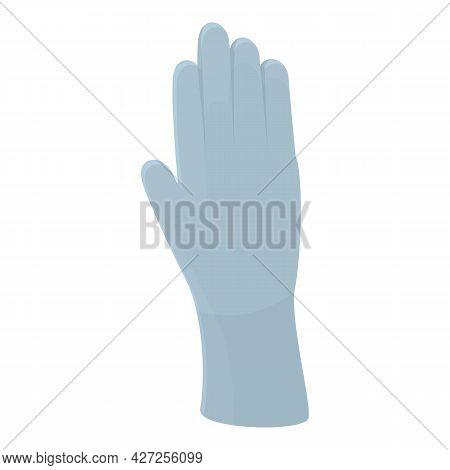 Hair Colouring Glove Icon Cartoon Vector. Color Dye Box. Woman Bottle