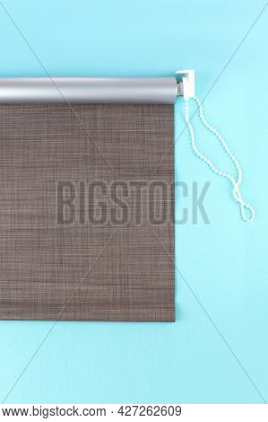 Roller Blinds Are Made From Texture Material. Color Blackout Roller Blind.