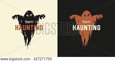 Ghost Halloween Or Spirit For Halloween Print