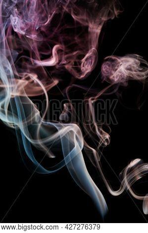 Smoke Transparent Color Lines