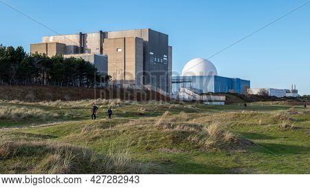 Sizewell B Nuclear Power Station At Sizewell, Suffolk, Uk