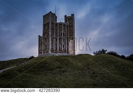 The Small Orford Castle In Suffolk Uk