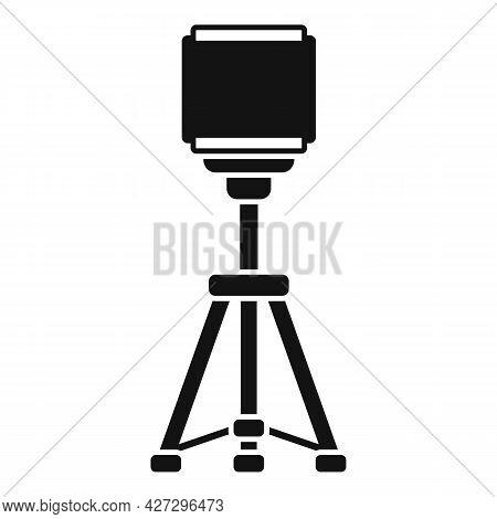 Smartphone Tripod Icon Simple Vector. Mobile Camera Stand. Phone Tripod