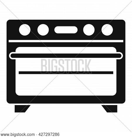 Kitchen Convection Oven Icon Simple Vector. Electric Grill Stove. Gas Convection Oven