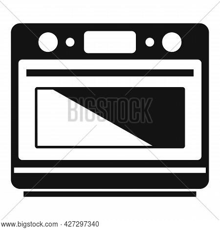 Convection Grill Oven Icon Simple Vector. Electric Kitchen Stove. Gas Fan Oven