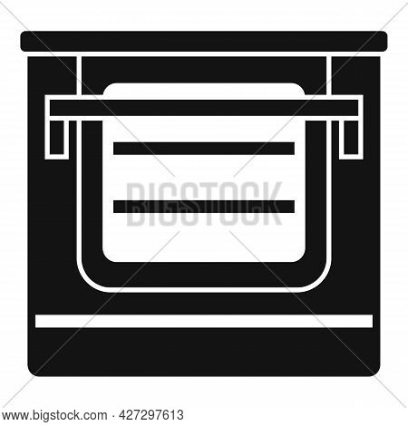 Temperature Convection Oven Icon Simple Vector. Electric Kitchen Stove. Cooker Convection Oven