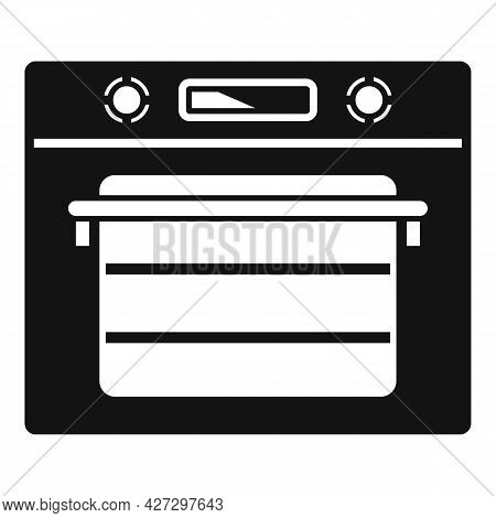 Cooking Convection Oven Icon Simple Vector. Gas Kitchen Stove. Cooker Oven