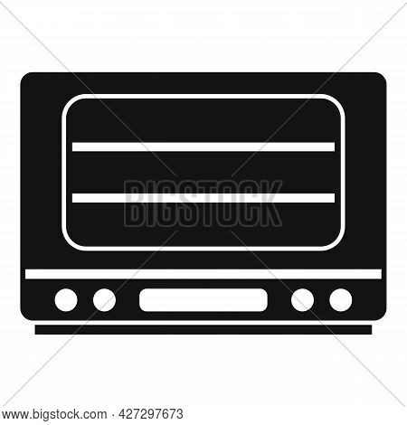 Cooker Oven Icon Simple Vector. Electric Convection Stove. Grill Oven