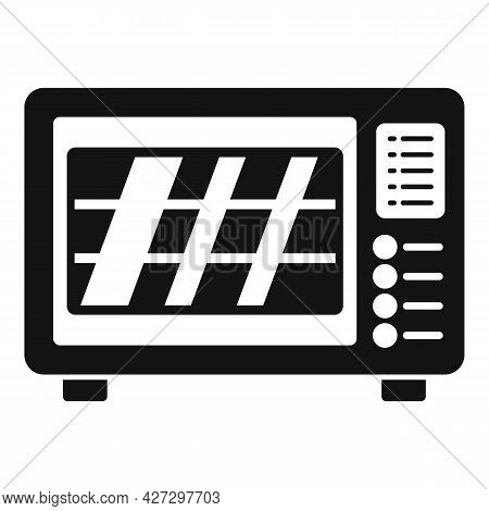 Baking Oven Icon Simple Vector. Kitchen Stove. Gas Grill Cooker