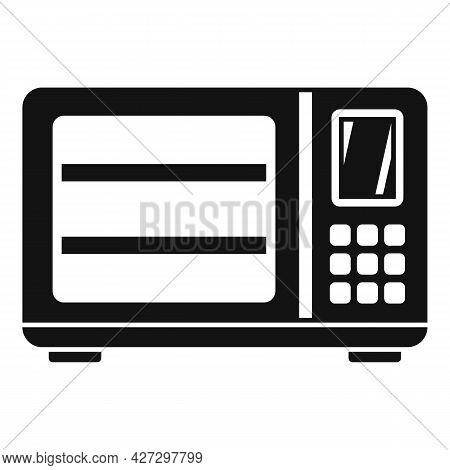Induction Oven Icon Simple Vector. Convection Electric Stove. Grill Fan Oven
