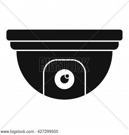 Indoor Security Camera Icon Simple Vector. Movie Camcorder. Security Camera