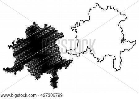 Saalfeld-rudolstadt District (federal Republic Of Germany, Rural District, Free State Of Thuringia)