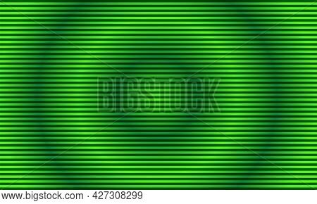 Abstract Striped Lined Horizontal Glowing Background. Scan Screen. Technological Futuristic Card Wit