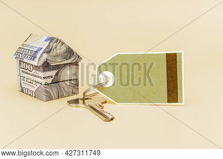 Purchase And Sale Of Housing. Mortgage For The Purchase Of A House. Rental Property. House Of Dollar