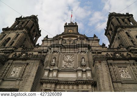 The Metropolitan Cathedral, Mexico City. High Quality Photo