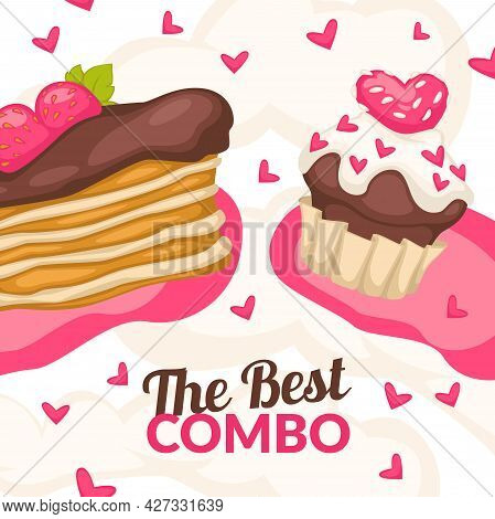 Best Combo, Bakery Shop, Store Promotion Banner