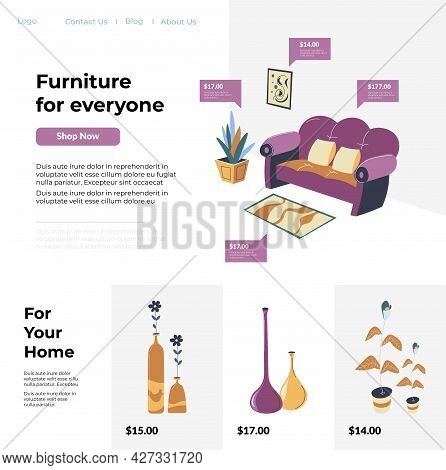 Furniture For Everyone And Home, Website Shops
