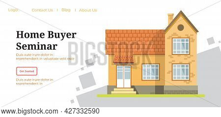 Home Buyer Seminar, Website Or Page For Lessons