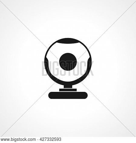Webcam Icon. Webcam Isolated Simple Vector Icon.