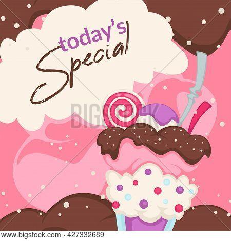Todays Special Food, Ice Cream Lollipop Dessert