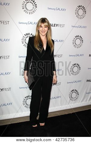 LOS ANGELES - FEB 27:  Lily Rabe arrives at the PaleyFest Icon Award 2013 at the Paley Center For Media on February 27, 2013 in Beverly Hills, CA
