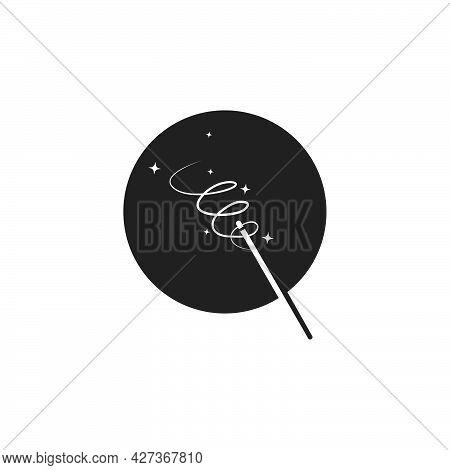 Wand Magic  Vector Icon Illustration Design