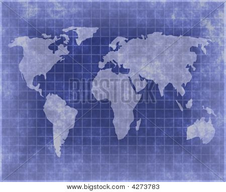 Blueprint Type Atlas Of The World