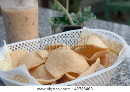 Prawn Crackers Chip.