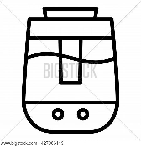 Aroma Air Humidifier Icon. Outline Aroma Air Humidifier Vector Icon For Web Design Isolated On White
