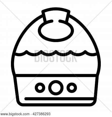Medical Humidifier Icon. Outline Medical Humidifier Vector Icon For Web Design Isolated On White Bac