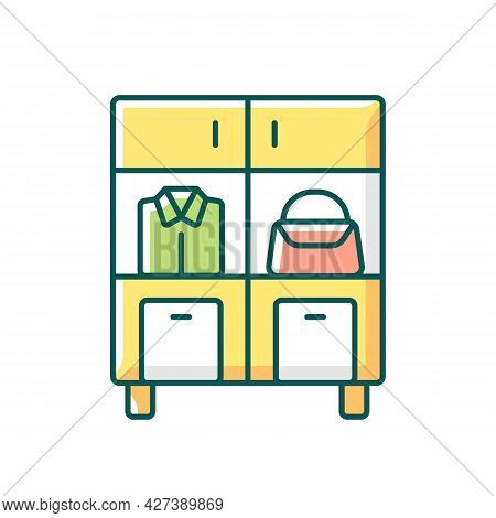 Home Organization Rgb Color Icon. Smart Storage Solutions. Restoring Order In Home. Maximizing Space