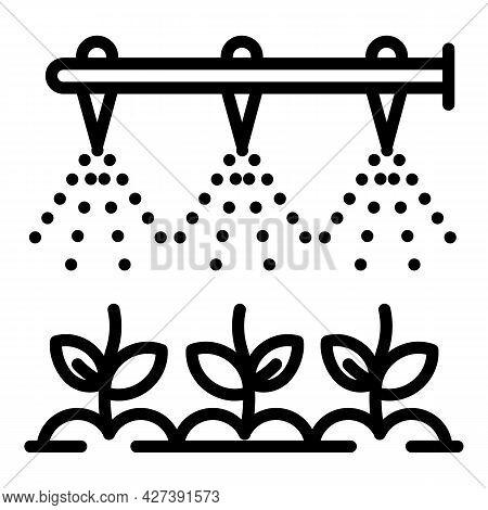 Modern Irrigation Technology Icon. Outline Modern Irrigation Technology Vector Icon For Web Design I