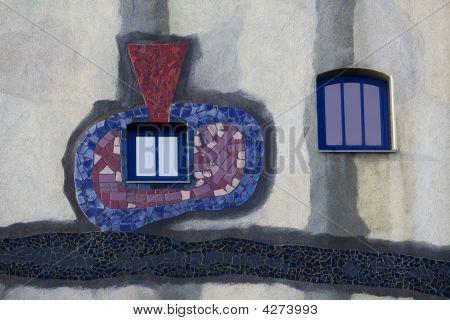 Window And Facade, Artistically Arranged