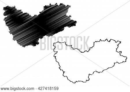 Sachsische Schweiz-osterzgebirge District (federal Republic Of Germany, Rural District, Free State O