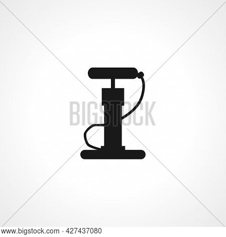 Air Pump Icon. Air Pump Isolated Simple Vector Icon.