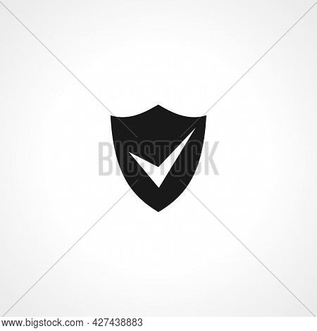 Shield Icon. Shield Isolated Simple Vector Icon. Protect Icon.
