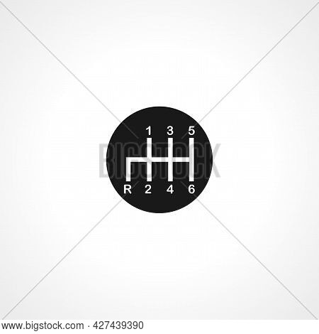Gearbox Icon. Gearbox Isolated Simple Vector Icon.