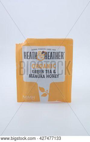 Manila, Ph - July 16 - Heath And Heather Organic Green Tea And Manuka Honey On July 16, 2021 In Mani