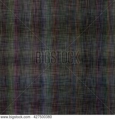 Soft Subtle Gingham Plaid Background Pattern. Blurry Checkered Space Dyed Melange Effect. Seamless C
