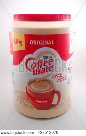 Manila, Ph - July 22 - Nestle Coffee Mate Original Creamer On July 22, 2021 In Manila, Philippines.