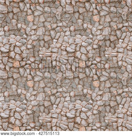 Nature River Stone Rock Wall .retaining Wall .stone Feature Wall Protect Earth Ground From Damage Of
