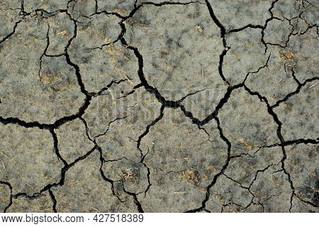 Arid Soils Under The Scorching Sun. World Drought. Agriculture Problems